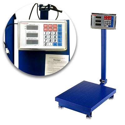 Весы электронные торговые Domotec Acs 150кг Fold 3040 150776