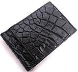Зажим для денег Exotic skin Черный (N59B), фото 5