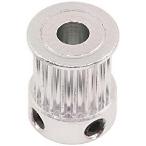 Зубчатый шкив алюминиевый GT2-9 20x5 (MXL) 20 зубьев, 5 мм вал