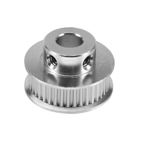Зубчатый шкив алюминиевый GT2-6 40x6.35 (MXL) 40 зубьев, 6,35 мм вал