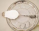 Серебряная кондитерская лопатка для торта,  десерта, серебро 800, Германия, Gebrüder Reiner, фото 8