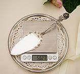 Серебряная кондитерская лопатка для торта,  десерта, серебро 800, Германия, Gebrüder Reiner, фото 7