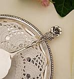 Серебряная кондитерская лопатка для торта,  десерта, серебро 800, Германия, Gebrüder Reiner, фото 6