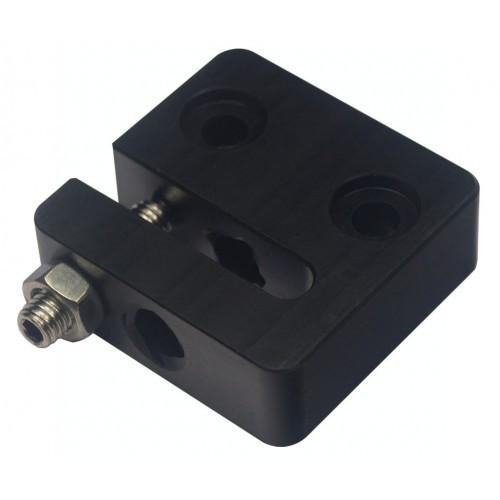 Гайка пластиковая (ПОМ) для трапецеидального винта T8 мм шаг резьбы 2 мм пластиковая , регулируемая OpenBuilds