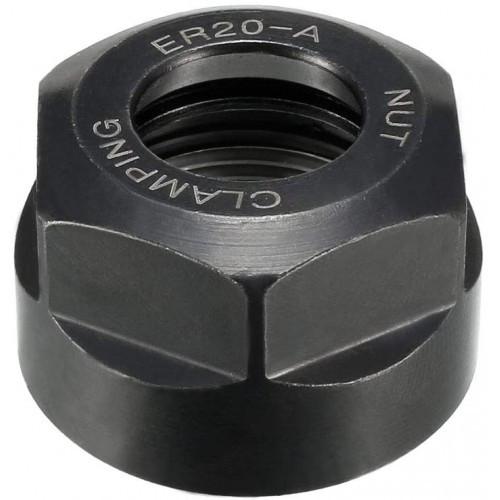 Гайка для прецизійного патрона ER20-A (різьба М25) для прецизійної цанги ER20