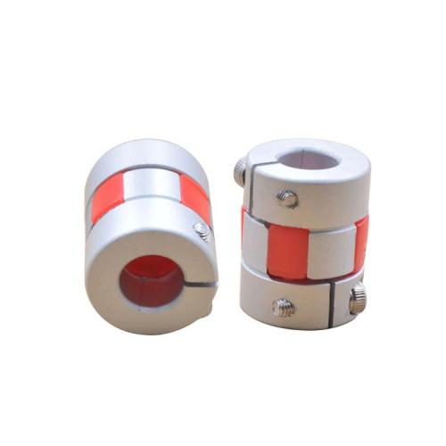 Алюминиевая муфта кулачковая безлюфтовая 8х8х25 мм для ЧПУ