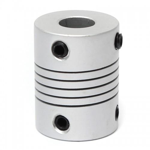 Алюмінієва муфта гнучка 8х10х25 мм для ЧПУ