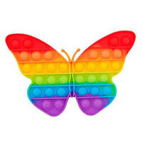 Сенсорна іграшка Pop It антистрес Вічна Пупырка Метелик