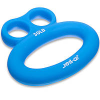 Эспандер кистевой силиконовый Zelart Jello Frog 1783 нагрузка 30LB Blue