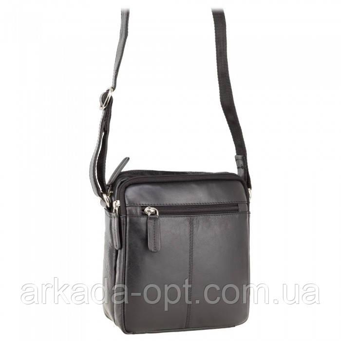 Мужская сумка Visconti (England) Черный (S8 BLK)