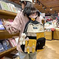 Рюкзак прогулянковий для дівчат яскравий