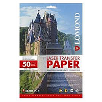 Термотрансфер lomond лазерная печать для светлых 150 гр/м a4*50 листов (0807420)