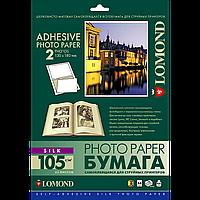 Фотонаклейка lomond А4 2 деления 13х18 шелк 25 листов (2312023 )