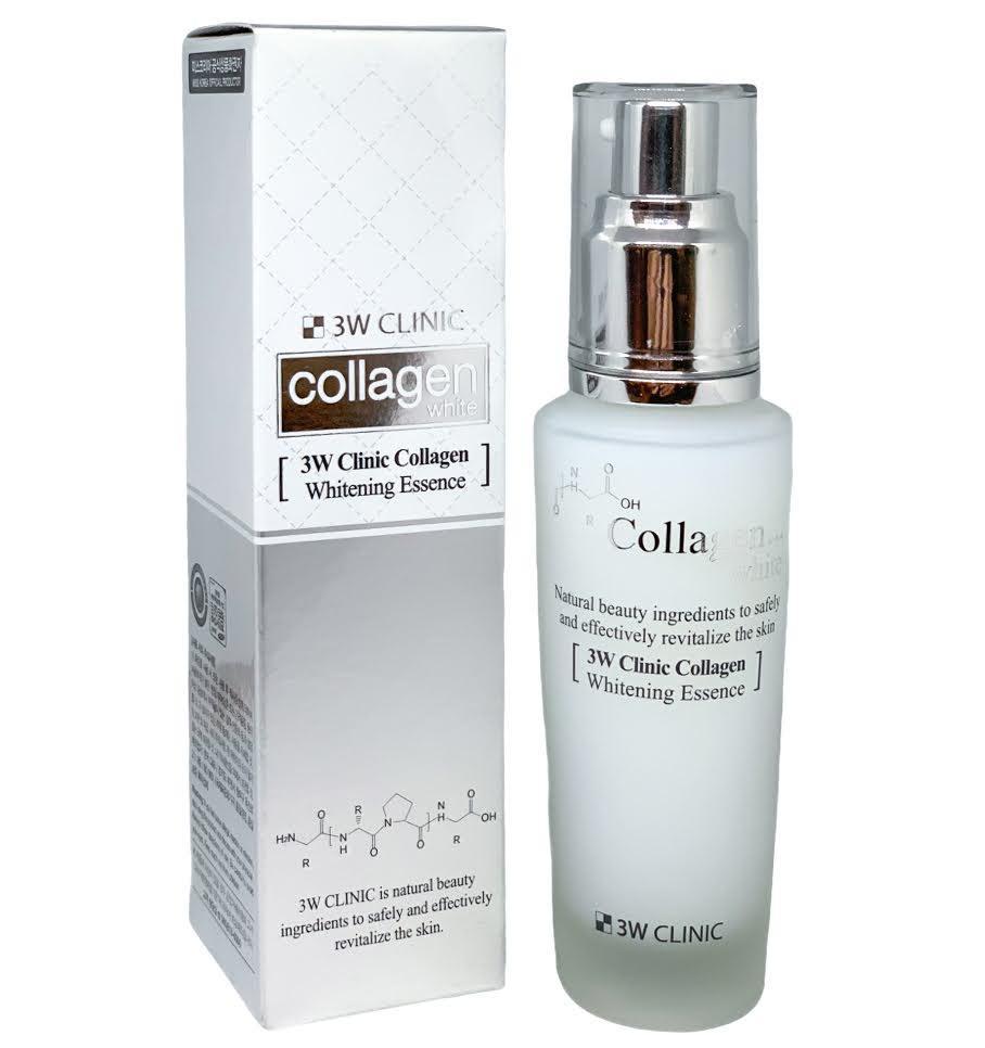Осветляющая эссенция для лица с коллагеном и ниацинамидом 3W Clinic Collagen Whitening Essence