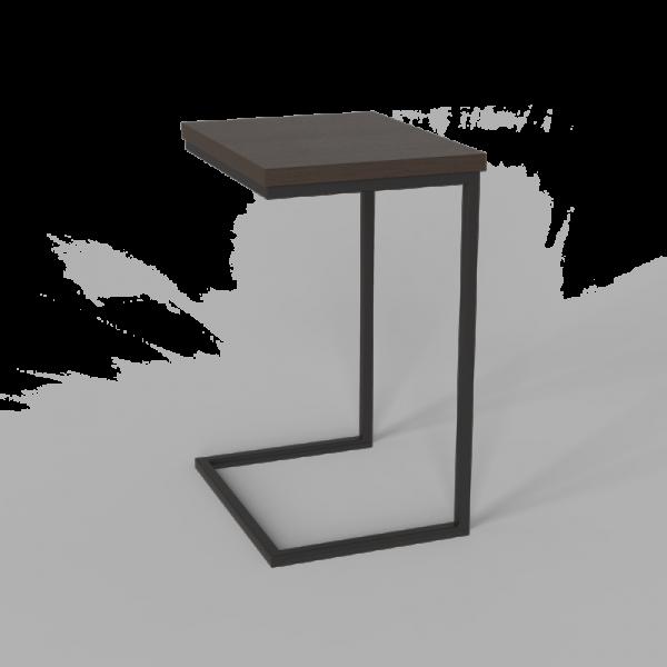 Стол приставной Неман Фиджи венге/корпус чёрный