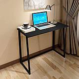 Стол приставной Неман Фиджи венге/корпус чёрный, фото 5