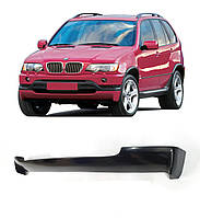 Накладка на передній бампер губа BMW X5 E53 1999-2006 р. в.