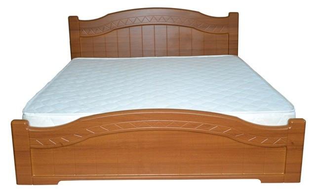 Ліжко Німан Домініка 140х200 світлий горіх
