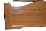 Ліжко Німан Домініка 140х200 світлий горіх, фото 2