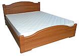 Кровать Неман Доминика 160x200 орех светлый, фото 4