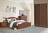 Ліжко Німан Домініка 180x200 горіх світлий, фото 2