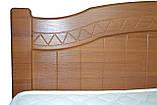 Ліжко Німан Домініка 180x200 горіх світлий, фото 5