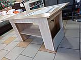 Стол-трансформер Неман Дольче Mini 600*725*1150 (600*605*1150 в сложенном состоянии), фото 2