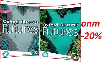 Англійська мова / Oxford Discover Futures / student's+Workbook+Onine. Підручник+Зошит (комплект), 3 / Oxford