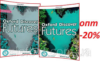 Английский язык /Oxford Discover Futures/ Student's+Workbook+Onine. Учебник+Тетрадь (комплект), 3/ Oxford