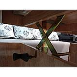 Стіл-трансформер Німан Дольче Maxi 677*730*1592 (677*610*1207 у складеному стані), фото 4