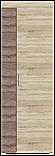 Двуспальная кровать Неман Лиана 140*200 Дуб сонома (109984), фото 6