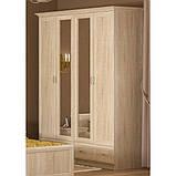 Двуспальная кровать Неман Лиана 140*200 Дуб сонома (109984), фото 8