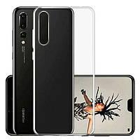 Прозрачный Силиконовый чехол TPU для Huawei P20 Pro