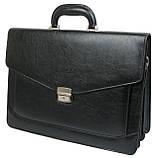 Чоловічий портфель Bellugio Чорний (T0017), фото 2
