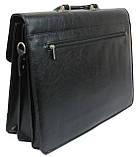 Чоловічий портфель Bellugio Чорний (T0017), фото 3