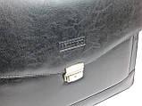 Чоловічий портфель Bellugio Чорний (T0017), фото 4