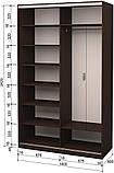 Комод Німан Вірджинія коричневий/сірий, фото 3