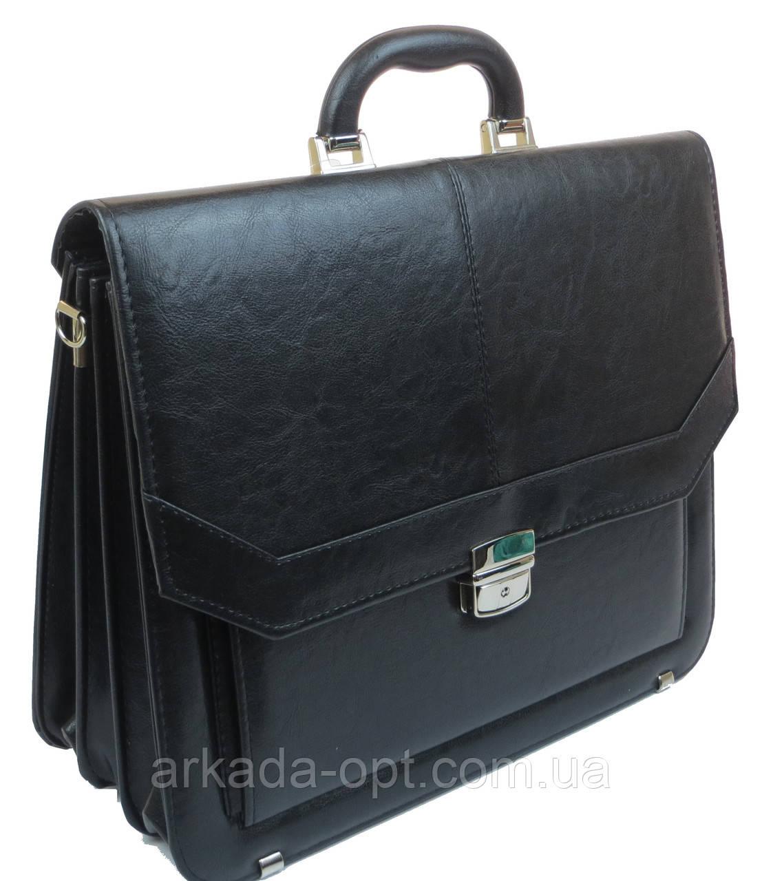 Чоловічий портфель Arwena Чорний (YP-0592)