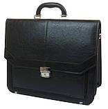 Чоловічий портфель Arwena Чорний (YP-0592), фото 2