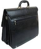 Чоловічий портфель Arwena Чорний (YP-0592), фото 3