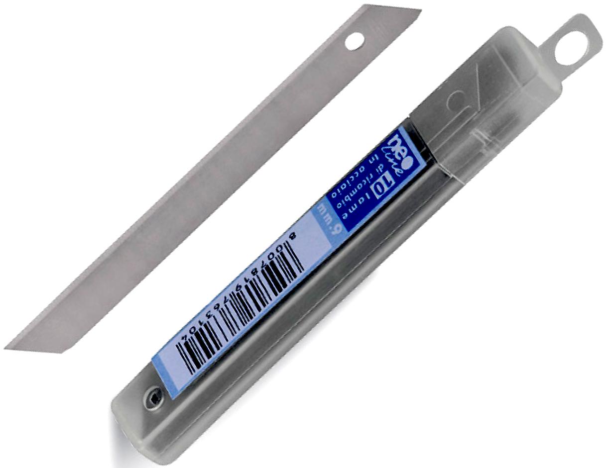 Лезвия для канцелярского ножа Neoline (9mm) набор 10шт