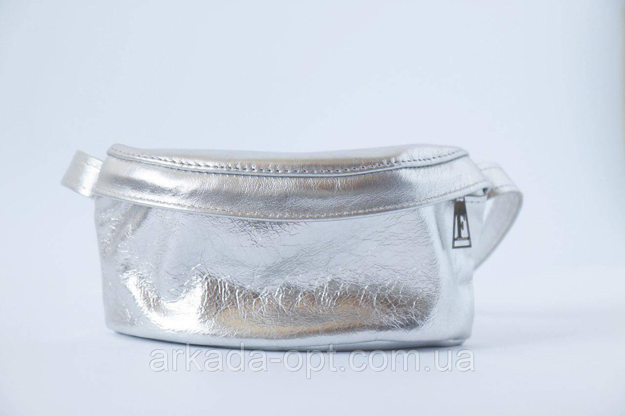 Сумка на пояс DM Сріблястий (d1024i3315)