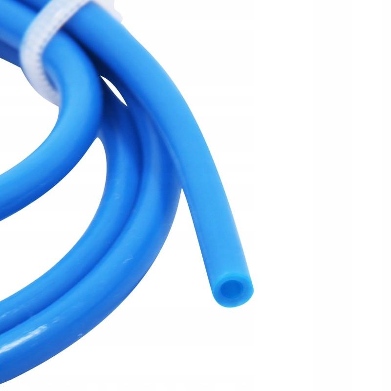 Тефлоновая трубка Синяя D=4мм d=2мм для пластика 1.75 мм