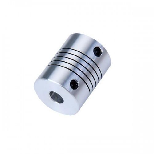 Алюминиевая гибкая муфта 6.35х8