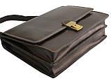 Мужской портфель TOMSKOR Коричневый (81563), фото 4