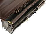 Мужской портфель TOMSKOR Коричневый (81563), фото 5