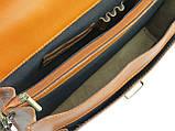 Чоловічий портфель з натуральної шкіри TOMSKOR Рудий (81569), фото 7