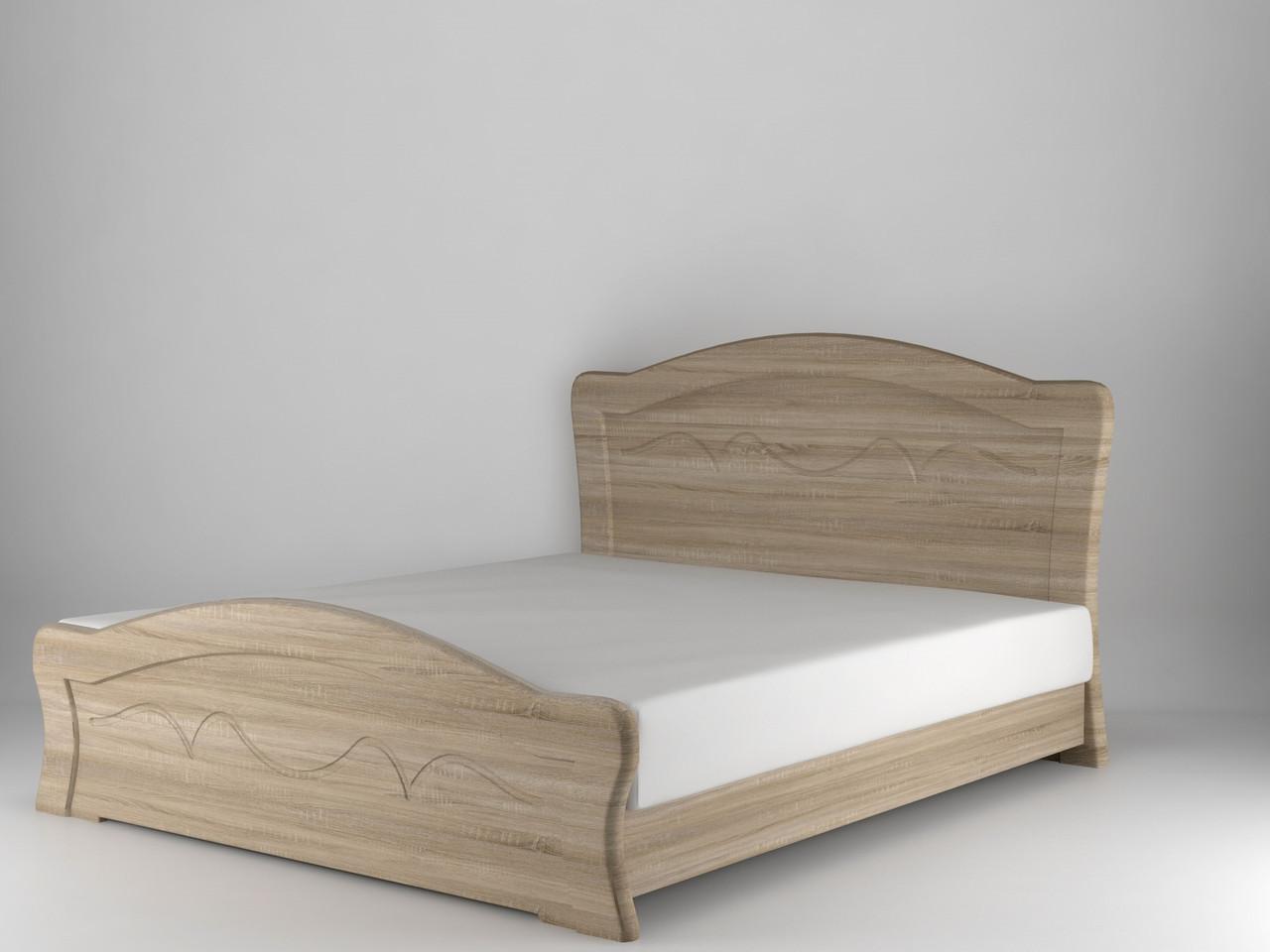 Ліжко Німан Віолетта 120x200 дуб сонома