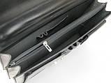 Мужской портфель из натуральной кожи TOMSKOR Черный (81573), фото 7
