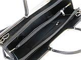 Деловой портфель женский из искусственной кожи Arwena Черный (Td008a1), фото 7